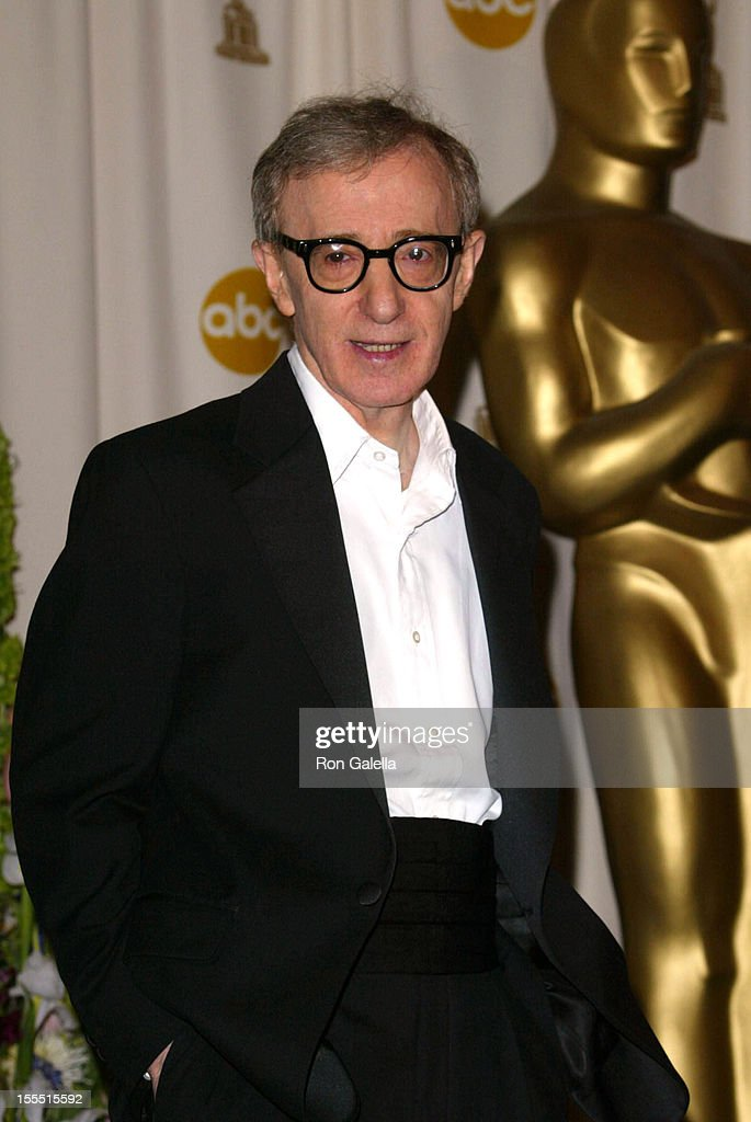 Woody Allen during The 74th Annual Academy Awards - Press Room at Kodak Theater in Hollywood, California, United States.