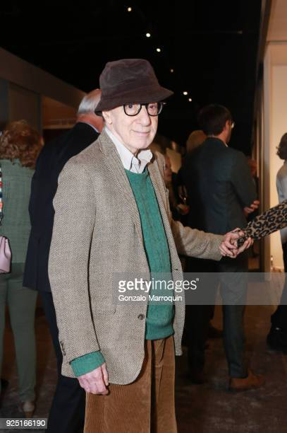Woody Allen during the The Art Show Gala Preview at Park Avenue Armory on February 27 2018 in New York City