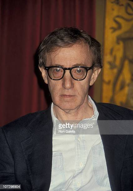 Woody Allen during Woody Allen Holds a Press Conference to Address Charges of Sexual Molestation - September 24, 1993 at The Plaza Hotel in New York...