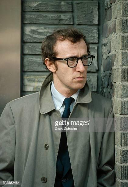 Woody Allen Filming The Front