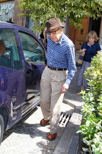 ESP: Woody Allen and Soon-Yi Previn Sighting in Madrid