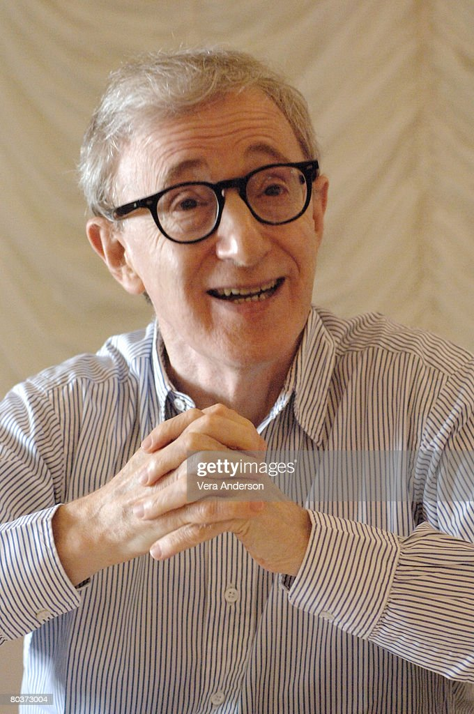 """Scoop"" Press Conference with Woody Allen"