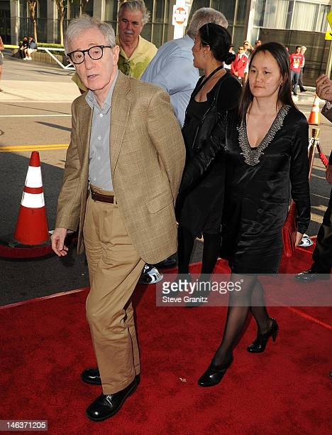 """Woody Allen, Soon-Yi Previn arrives at the """"To Rome With Love"""" premiere sponsored by Virgin America at the Regal Cinemas L.A. LIVE Stadium 14 on June..."""