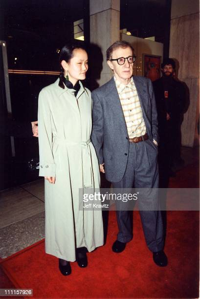 """Woody Allen & Soon-Yi Previn during """"Deconstructing Harry"""" Premiere in Los Angeles, California, United States."""