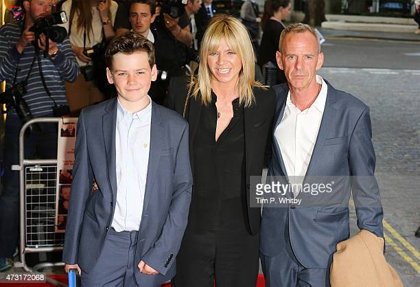 Woody Cook Zoe Ball and Norman Cook attend the UK Gala screening of Man Up at The Curzon Mayfair on May 13 2015 in London England