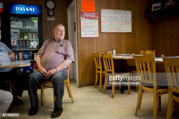 Woody Craig has coffee with friends at Debbie's Deli and Pizza in Patten Craig was raised in and around Patten and his father was a lumberman He...