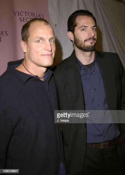 Woody Harrelson and Guy Oseary during 8th Annual Victoria's Secret Fashion Show Arrivals at The New York State Armory in New York City New York...