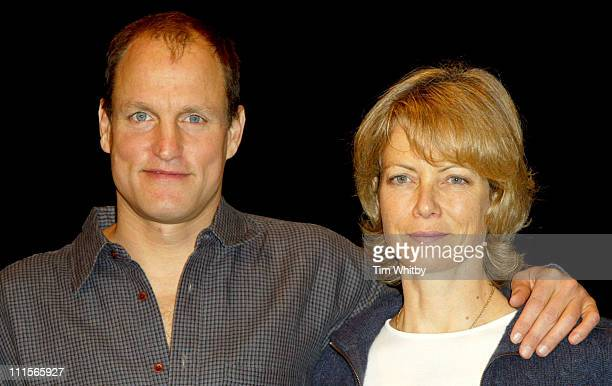 Woody Harrelson and Jenny Seagrove during 'Night of the Iguana' Photocall at Lyric Theatre in London Great Britain