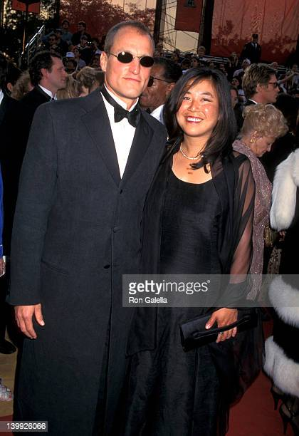 Woody Harrelson and Laura Louie at the 69th Annual Academy Awards Shrine Auditorium Los Angeles