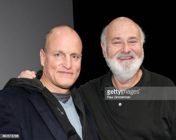 Woody Harrelson and Rob Reiner attend SAGAFTRA Foundation Conversations Presents 'LBJ' With Woody Harrelson And Rob Reiner at SAGAFTRA Foundation...