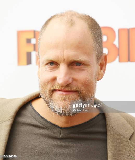 Woody Harrelson arrives at the Los Angeles premiere of 'Free Birds' held at Westwood Village Theatre on October 13 2013 in Westwood California