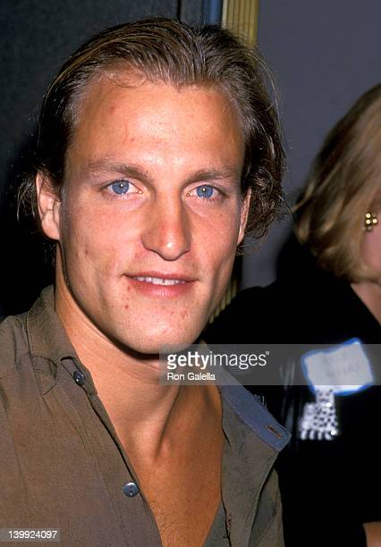 Woody Harrelson at the Global Problems Conference 'Show Coalition' Rally Lorimar Studios Culver City