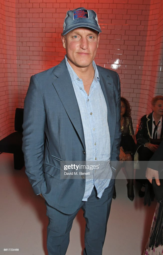 Woody Harrelson attends the after party for 'Three Billboards Outside Ebbing, Missouri' at the closing night gala of the 61st BFI London Film Festival on October 15, 2017 in London, England.