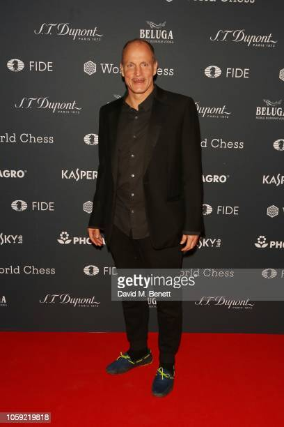 Woody Harrelson attends the FIDE World Chess Championship 2018 Gala Opening 2018 at The VA on November 8 2018 in London England