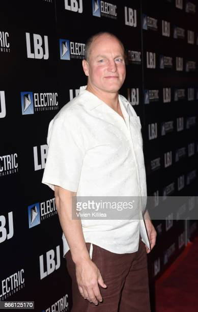 Woody Harrelson attends the Los Angeles Premiere of LBJ at ArcLight Hollywood on October 24 2017 in Hollywood California