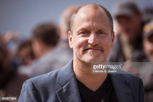 Woody Harrelson attends the naming ceremony of her dedicated beach cabana during the 43rd Deauville American Film Festival on September 9 2017 in...