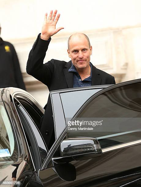 Woody Harrelson attends the Stella McCartney show at the Opera Garnier during Paris Fashion Week Fall Winter 2015/2016 on March 9 2015 in Paris France