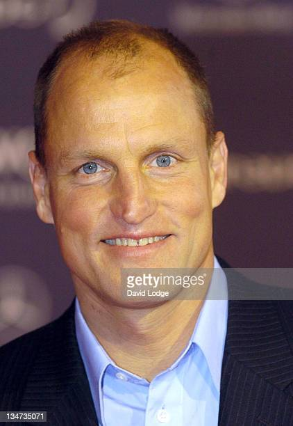 Woody Harrelson during 2005 Laureus Sports Awards Arrivals at Casino Estoril in Estoril Portugal