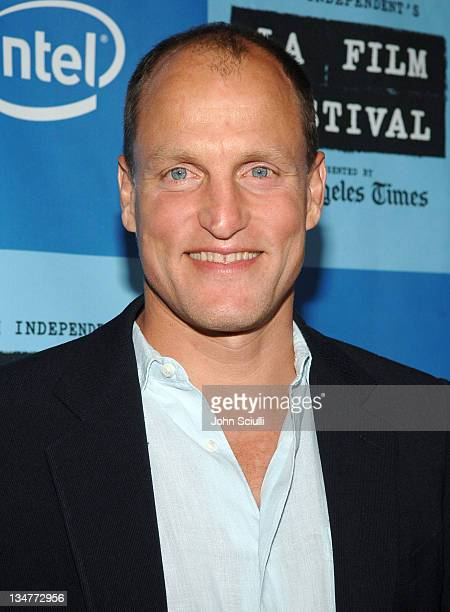 Woody Harrelson during 2006 Los Angeles Film Festival 'A Scanner Darkly' Screening Red Carpet at John Anson Ford Ampitheatre in Los Angeles...