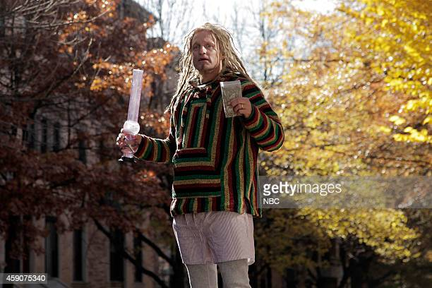 LIVE 'Woody Harrelson' Episode 1668 Pictured Woody Harrelson during the 'New Marijuana Policy' skit on November 15 2014