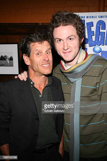 """Woody Keptel and Dennis Lemoine during Preview screening of """"Illegal Aliens"""" at Tribeca Cinemas in New York, New York, United States."""