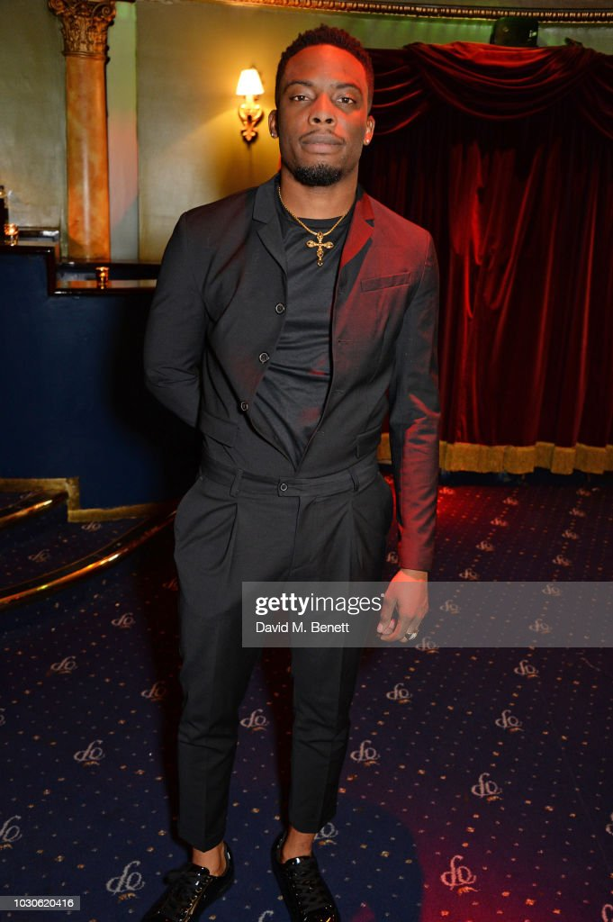 Woody McClain attends a special screening of 'The Bobby Brown Story' at Cafe de Paris on September 10, 2018 in London, England.