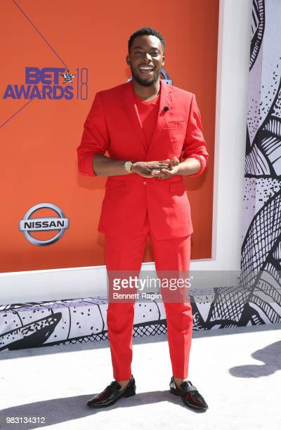 Woody McClain attends the 2018 BET Awards at Microsoft Theater on June 24 2018 in Los Angeles California