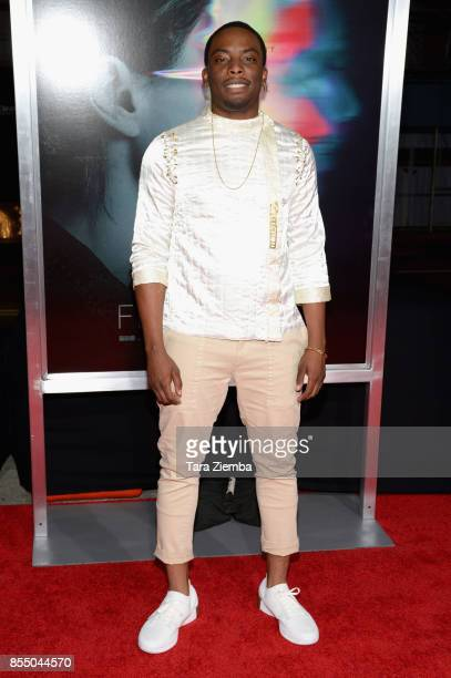 Woody McClain attends the premiere of Columbia Pictures' 'Flatliners' at The Theatre at Ace Hotel on September 27 2017 in Los Angeles California