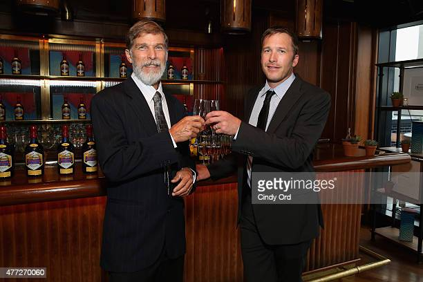 Woody Miller and Gold Medalist Bode Miller celebrate Father's Day with Jose Cuervo's Reserva De La Familia on June 15 2015 in New York City