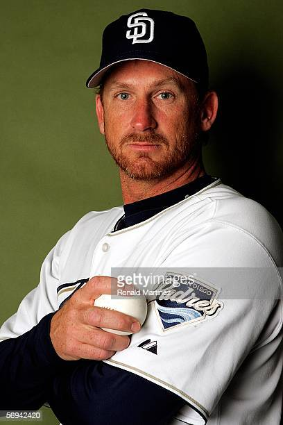 Woody Williams of the San Diego Padres poses for a portrait during the San Diego Padres Photo Day on February 26 2006 at Peoria Sports Complex in...
