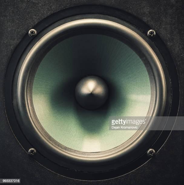 Woofer Speaker Closeup