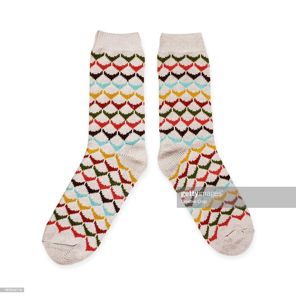 Wool socks : Stock-Foto