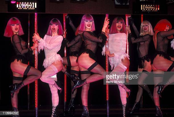 Woolford women's underwear at crazy horse In Paris France On January 31 1994