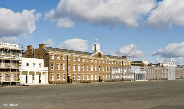 woolwich army barracks - woolwich stock photos and pictures