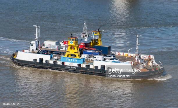 """ferry woolwich """"john burns"""" - gratis - fotografias e filmes do acervo"""