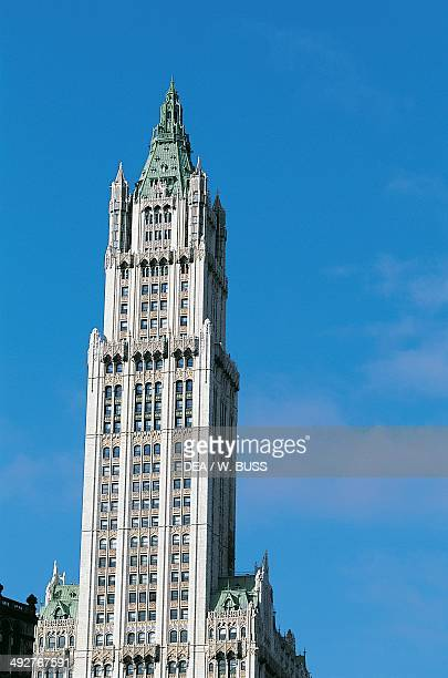 Woolworth Building designed by Cass Gilbert Manhattan New York United States of America