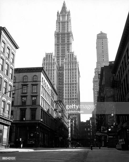Woolworth building, New York City, New York