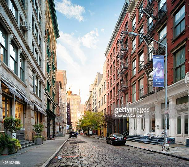 Wooster street in Soho Manhatan looking south