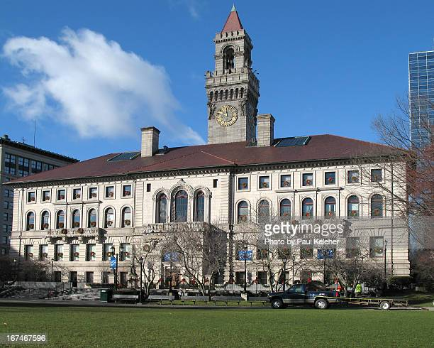 worcester city hall - worcester massachusetts stock pictures, royalty-free photos & images