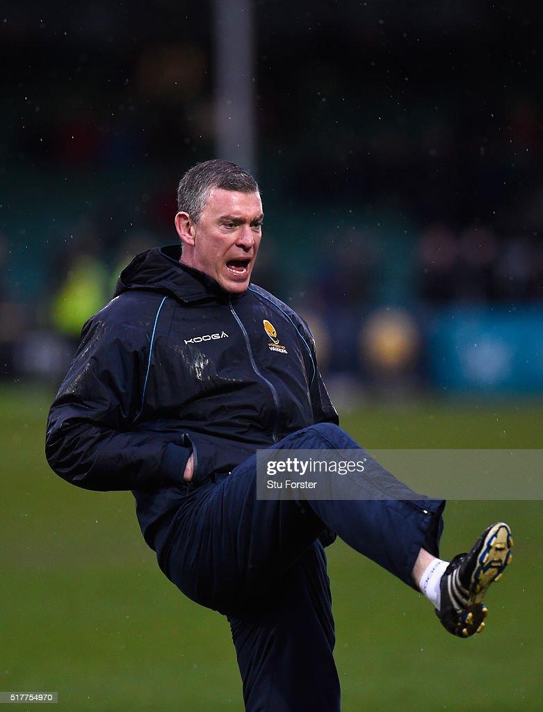 Worcester Warriors v London Irish - Aviva Premiership