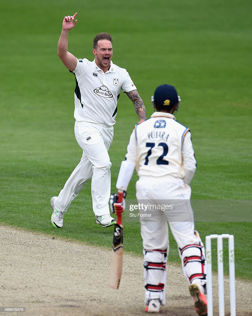 Worcestershire v Yorkshire - LV County Championship