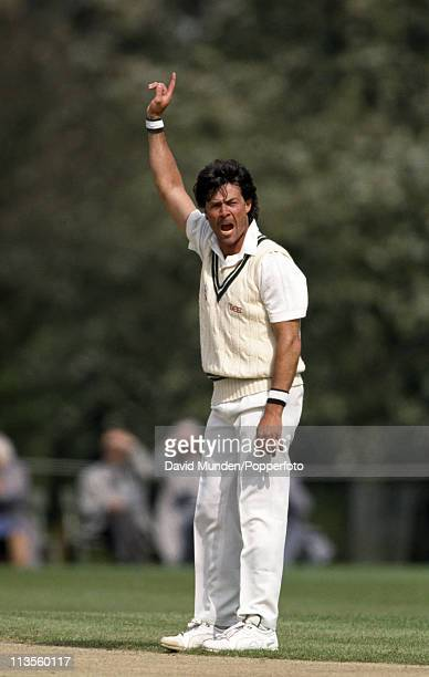 Worcestershire bowler Neal Radford during the Benson and Hedges Cup match against the Combined Universities at The Parks Oxford on the 23rd April...