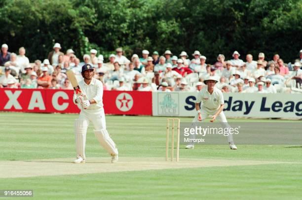 Worcestershire v Yorkshire Britannic Assurance County Championship 1992 County Ground New Road Worcester Saturday 20th June 1992 Sachin Tendulkar...