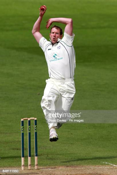 Worcestershire's Alan Richardson in action