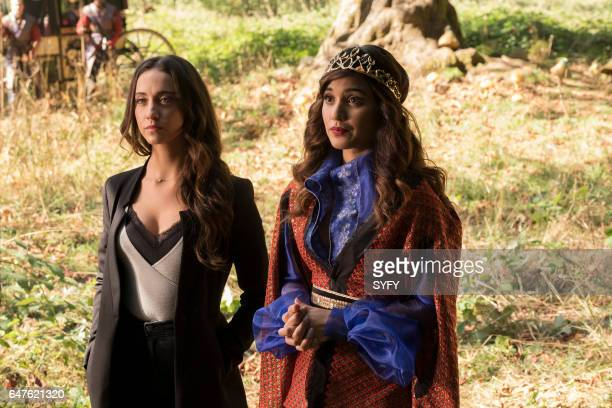 THE MAGICIANS Word As Bond Episode 208 Pictured Stella Maeve as Julia Summer Bishil as Margo