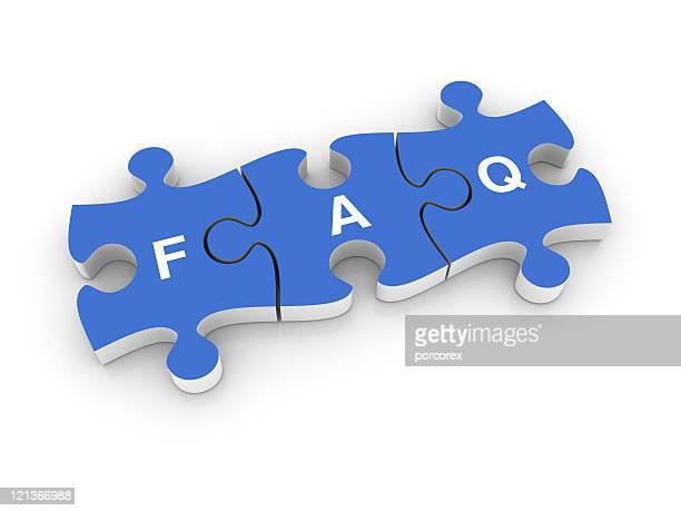 FAQ mot sur puzzle morceaux