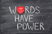 words have power heart