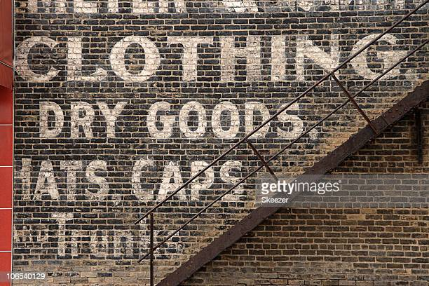 Words painted on an outdoor wall