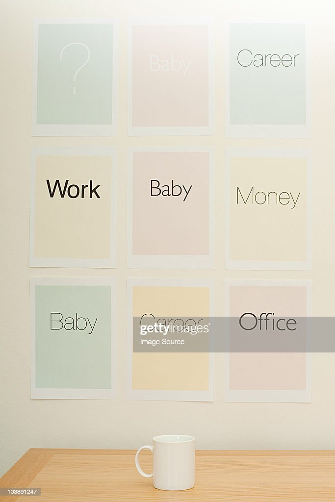 Work and life choices : Stock Photo