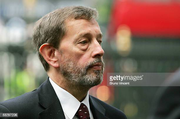 Work and Pensions Secretary, David Blunkett, attend the service of thanks giving for Lord and Lady Callaghan in Westminster Abbey, July 28, 2005 in...